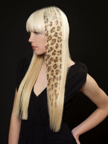 Mecha/aplique tictac cabelo natural onçinha - STRETHCHAIR
